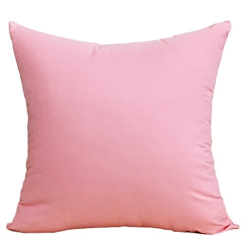 MSYOU algodón Almohada Lanzamiento Almohada Funda de cojín Rosa Fácil sofá Almohada cojín Lumbar Decorativa Auto Almohada ( Peces X 45cm )