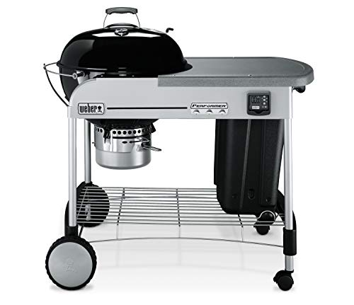 Weber 15401001 Performer Premium Charcoal Grill, 22-Inch, Black