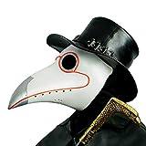 CreepyParty LED Máscara Doctor Peste Pájaro de Nariz Larga Máscaras de Accesorios de Disfraces de...