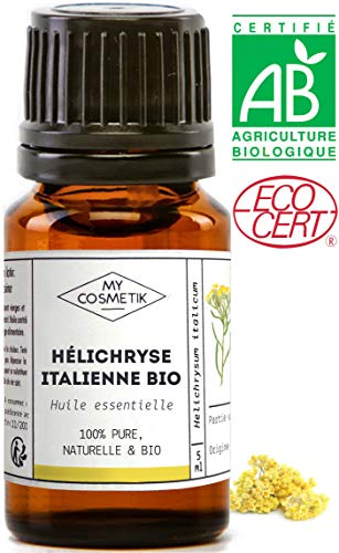 Huile essentielle Hélichryse italienne BIO - MyCosmetik - 5 ml