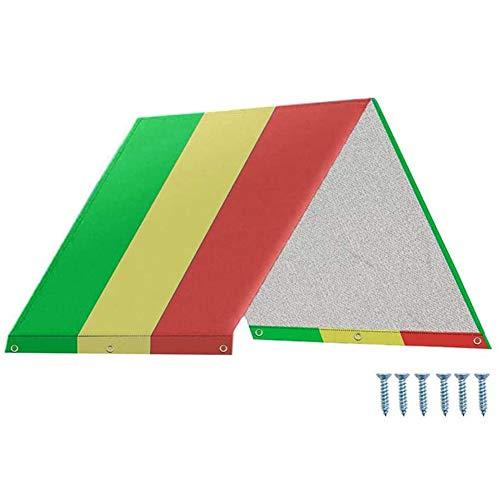 Blanketswarm Swing Set Ersatzplane, 132 × 226 cm Kinder Spielplatz Dach Ersatzbaldachin, Outdoor-Sonnenschutz, wasserdichte Abdeckung für Kinder, 3191650KP5W, a1