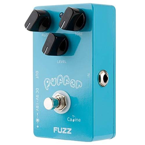 Caline CP-11 Puffer Fuzz Electric Guitar Effects Pedal Blue with Aluminum Alloy Housing True Bypass Design Guitar Accessories