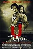 U Turn - Sean Penn – Movie Wall Poster Print – A4 Size