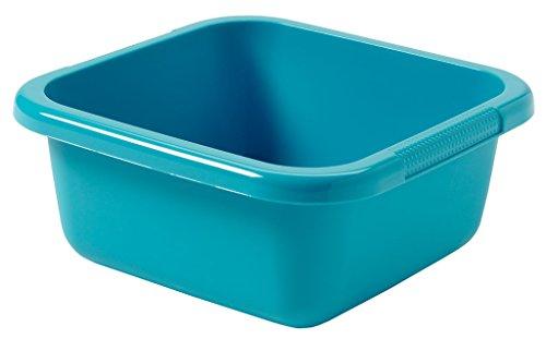 CURVER Viereckschüssel 10L in Molokai blau, Plastik, 35 x 35 x 12 cm