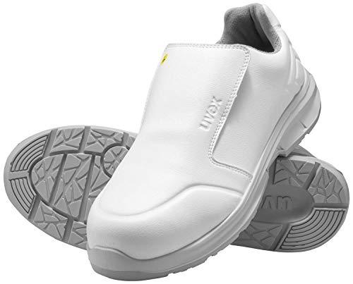 Uvex 1 Sport Hygiene Sicherheitsschuhe für die Arbeit - S2 SRC ESD - Weiß - 45