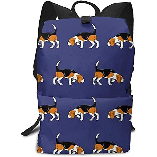 Kinderrugzakken, Beagle Dog schooltas reisdagrugzak schoudertas