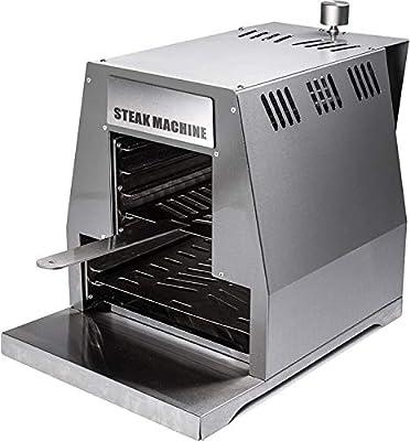 "ACTIVA Grill ""Steak Machine"" Gasgrill Steak-Grill 800 Grad Oberhitze-Gasgrill aus Edelstahl"