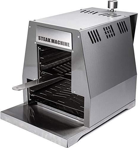 ACTIVA Grill Steak Machine Gasgrill Steak-Grill 800 Grad Oberhitze-Gasgrill BBQ