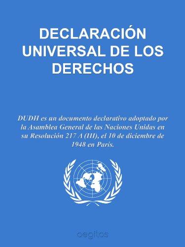 Declaración Universal de Derechos Humanos eBook: Naciones Unidas ...