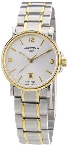 Certina Damen-Armbanduhr XS Analog Quarz Edelstahl C017.210.22.037.00