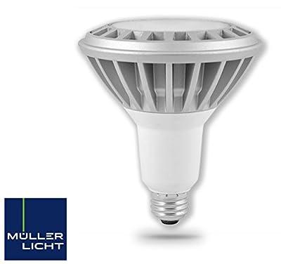 Muller Licht 15 Watt (120W) E26 LED PAR38 Replacement Bulb, Dimable, Warm White