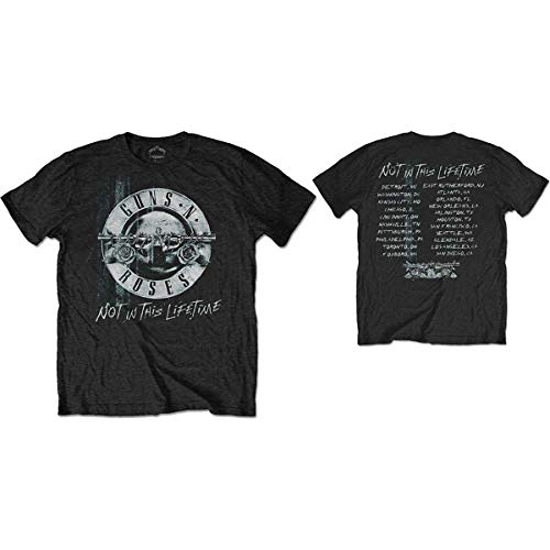 Guns N' Roses Herren T-Shirt Not In This Lifetime Tour schwarz