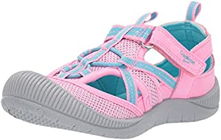 OshKosh B'Gosh Kids Myla Girl's Mesh Athletic Bumptoe Sandal