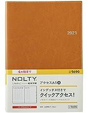 能率 NOLTY 手帳 2021年 4月始まり A5 ウィークリー アクセス