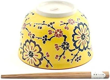 Happy Sales BluePeacock Multi Purpose 6.25D Large Ramen Udon Soba Pho Noodle Donburi Rice Tayo Bowl with Chopsticks