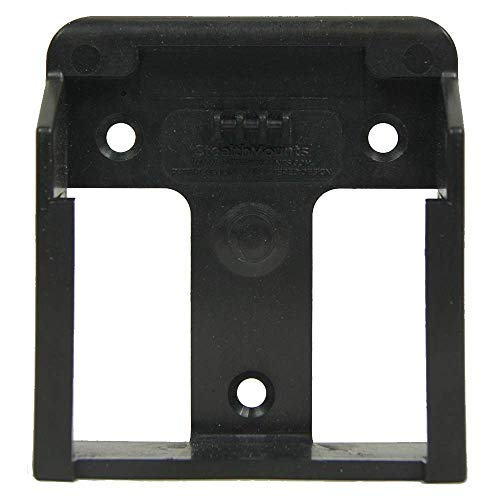 StealthMounts - Battery Mounts for Bosch M18   Wall Mount Battery Holder   Perfect Battery Organizer for Workshops, Truck Pannels, Shelves   Available in Black Color - 6 Pack