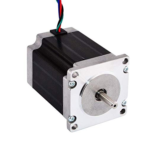 JoyNano Nema 23 Stepper Motor Bipolar 2.8A 1.89N.m Holding Torque 2-Phase 4-Wire 1.8 Deg 76mm Body for 3D Printer or CNC Machine