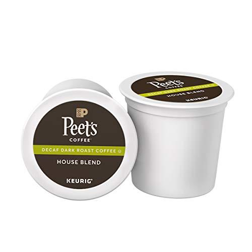 Peet's Coffee Decaf House Blend, Dark Roast,...