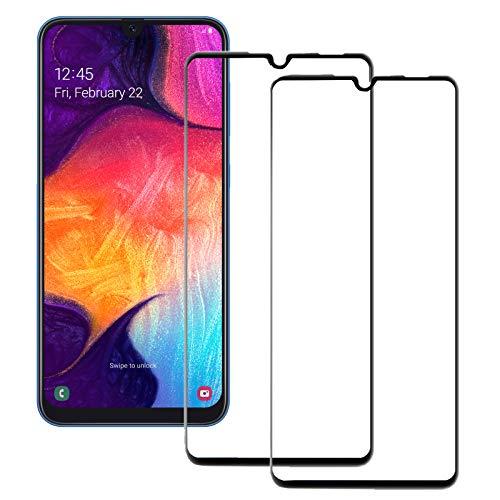 MOELECTRONIX 2X 5D Komplett FullCover 9H Glas Schutz Folie Screen passend für Samsung Galaxy S9 DuoS SM-G960F/DS