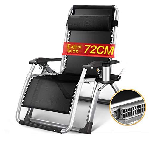 Verstelbare ligstoel/klapstoel/strandstoel, multifunctionele bureau-lunchstoel, eenvoudige loungestoel, geschikt voor woonkamer, kantoor