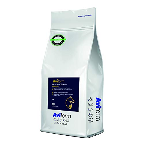Aviform Pro-Choice Gold - Probiotic and Prebiotic Horse Supplements - Effective Equine Digestive Supplement, Gut Balancer and Digestion Aid for Horses - Perfect for Fussy Eaters