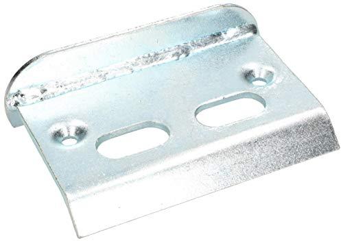 KOTARBAU Auflaufstütze 150 x100 x 67 mm Silber Zum Anschrauben Auslaufbock Torfeststeller Auflaufplatte Auslaufschuh Toranschlag Bodenbeschlag