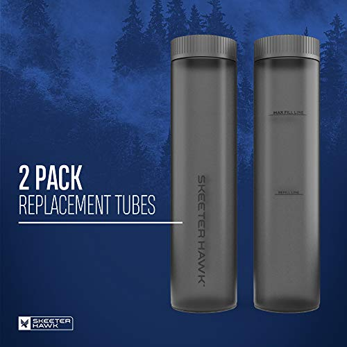 SKEETER HAWK Bait Station Replacements - 2 Pack | Replacement Cartridges Backyard Mosquito Bait Station, Gray, One-Size