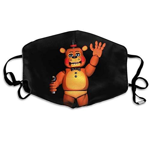 Five Nights at Freddy's Mask Toys Gift for FNAF Fans Adjustable Freddy Face Mask for Kids Man