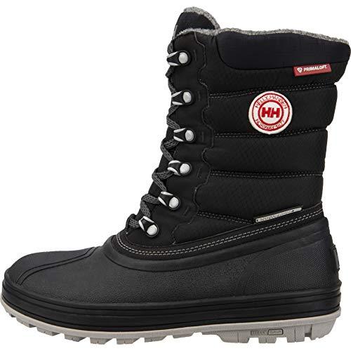 Helly-Hansen Mens Tundra CWB 2 Waterproof Winter Boot, 991 Jet Black/New Light Grey/Charcoal/Angora/Black Gum, 10.5