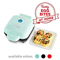 SATISFACTION : From the creators of the ORIGINAL DASH RAPID EGG COOKER, the egg bite maker now gives you perfect, sous vide style egg bites at home, every time (without the hefty price tag) we it! QUICK + EASY: Short on time? Simply prep your eggs, f...