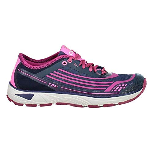 CMP Chaussures de Course Chaussures de Sport Libre WMN Courant Chaussures Mauve Léger Plaine Mesh - M921 Inchiostro, 38 EU