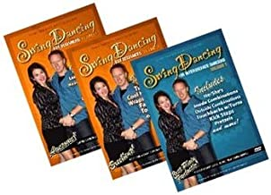 Swing Dancing Starter Pack (3-DVD Set - Beginner 1, Beginner 2, and Intermediate 1) (Shawn Trautman's Dance Collection)