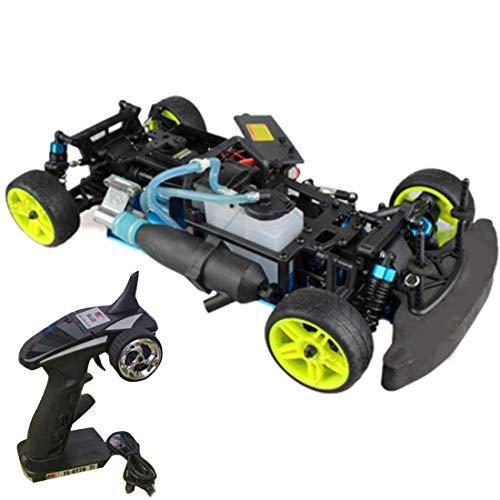 GODNECE Drift Auto Benzin 1:10 Benzin Modell Auto Toyan Engine RC Car Sportwagen RC Modellautosatz mit Motor und Fernbedienung,Kompatibel mit dem Motor der Toyan FS-Serie