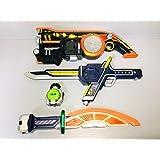 仮面ライダー鎧武ガイム 無双セイバー大橙丸火縄大橙DJ銃DX版メロンロックシードセット