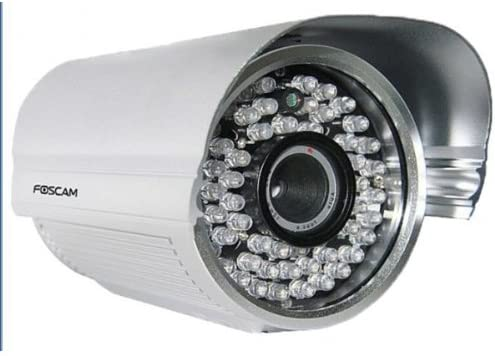 Foscam FI8905E Power Over Ethernet Outdoor IP Camera with 4 mm Lens, Night Vision Up To 30 Meters
