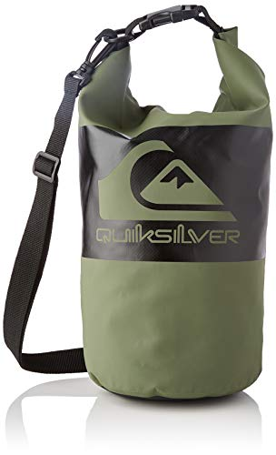 Quiksilver Smallwaterstash M-Gear Bag For Men, Bolsa de Transporte para Hombre, Thyme, Einheitsgröße