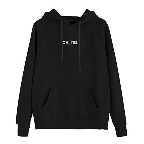 Fulltime (TM) - Sudadera con capucha para mujer, diseño con texto