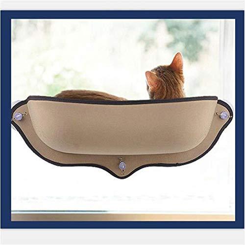 ZZQ Katze Hängematte Betthalterung Window Pod Lounger Saugnäpfe Warmes Bett Für Haustier Katze Rest Haus Weich Und Komfortabel Frettchenkäfig