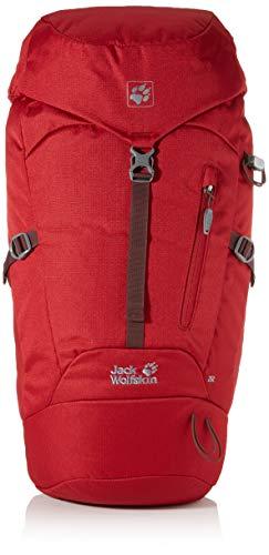 Jack Wolfskin Unisex-Erwachsene Astro 26 Pack sac à dos de randonnée Wanderrucksack, Rot (red maroon), One Size