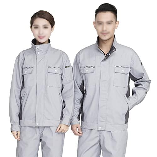 BBGS Traje de Caldera para Hombre,Mecánica Tapa Protectora Polialgodón en General Pantalones y Abrigos Pantalón Boilersuit (Color : Style 2, Size : S)
