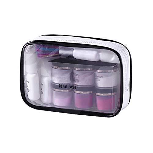 Wishwin Maniküre Puderanzug Tauchpulver Nagel Acryl Kit Glitter Dip Pulver Nägel für Maniküre Gel Nagellack Art Set
