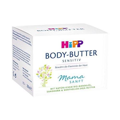 HiPP Mamasanft Body Butter, Paquet de 4 (4 x 200 ml)