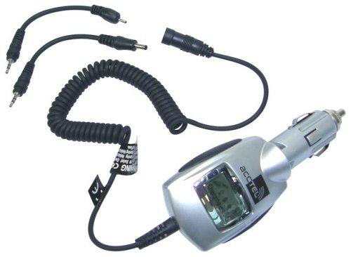 Acctel Coche Cable de Carga Titanio con LCD Pantalla para No