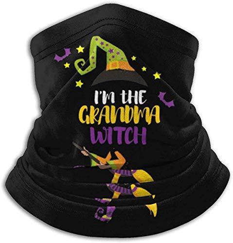 LAKILAN Pauelo para La Cabeza Soy La Abuela Bruja Divertido Disfraz De Halloween Regalo Cara Bufanda Cuello Polaina Multifuncional Pasamontaas Bandana para Polvo Al Aire Libre