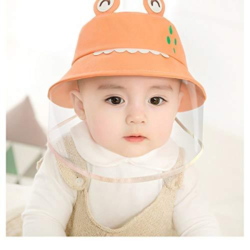 SmartRing Die Maske ist geeignet für Kinder von 0-5 Jahren alt, 100% Baumwolle Hut, Sonnenschutz, Anti-Speichel, beschlagfrei, staubdicht, Nicht entfernbare Maske.