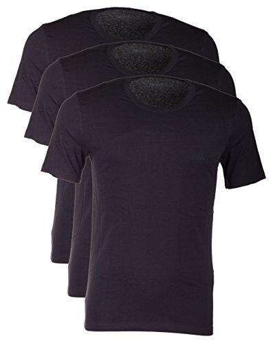 Hugo Boss 3er Pack O Neck XL 001 3 x schwarz Rundhals Ausschnitt T Shirts