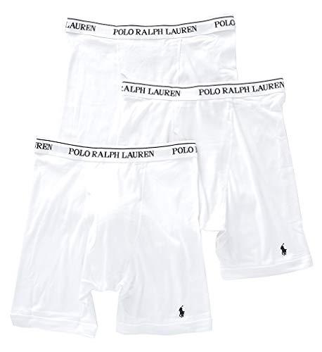 Polo Ralph Lauren Mens 3-Pack Long Leg Boxer Brief