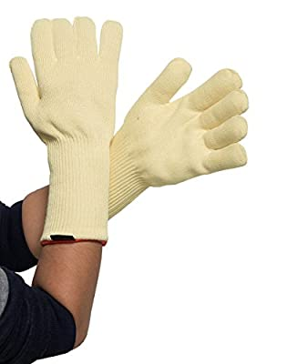 Kevlar Heat And Cut Resistant Knitted Gloves For Oven Kitchen