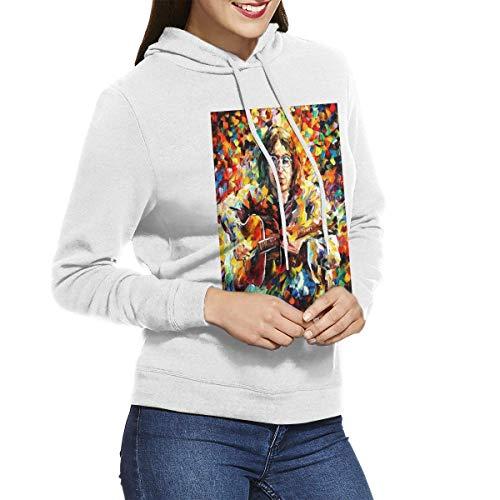 Kmehsv Mujer Sudadera con Capucha, Womens Hoodie Imagine-Jo-hn Casual Long Sleeve Hoodie Adjustable Drawstring Hooded