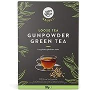 Amazon-Marke: Happy Belly Select Grüner Tee Gunpowder, lose Blätter, 2 x 200 g